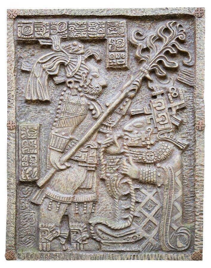 Maya ornament royalty free stock image