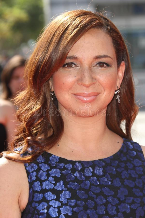 Maya Rudolph. At the 2011 Primetime Creative Arts Emmy Awards, Nokia Theatre L.A. Live, Los Angeles, CA. 09-10-11 royalty free stock photos