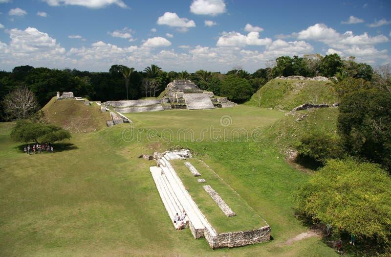 Maya-Ruinen lizenzfreie stockbilder