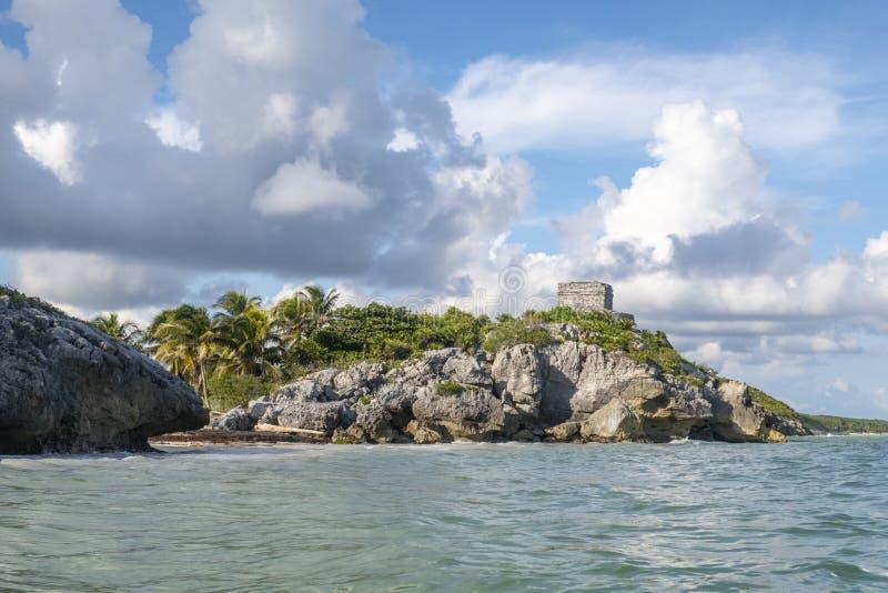 Maya Ruins royaltyfri fotografi