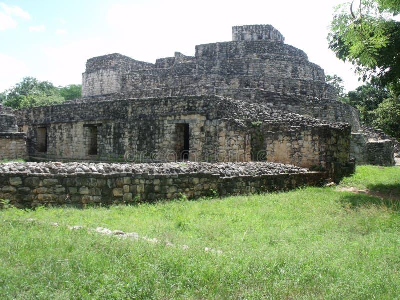 Maya Ruins royalty-vrije stock foto