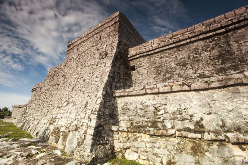 Maya Ruins arkivbild