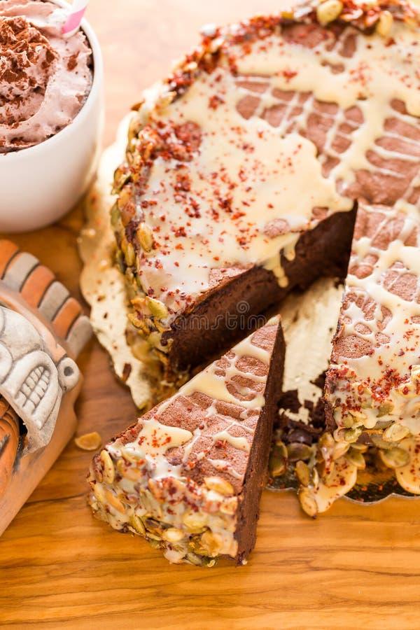 Maya Spice torte royaltyfri fotografi