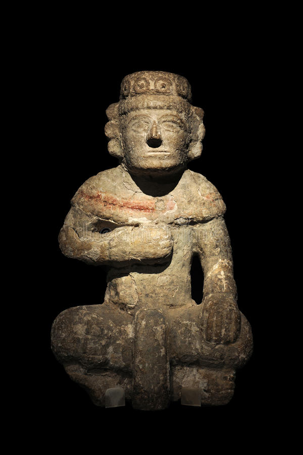 Download Maya Stone Statue stock photo. Image of indigenous, carved - 20658762