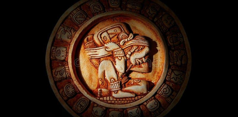 Mayakalender stockbild