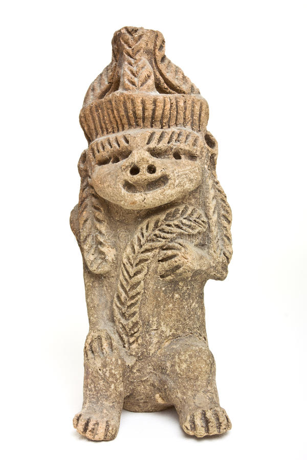 mayan άγαλμα στοκ φωτογραφία με δικαίωμα ελεύθερης χρήσης