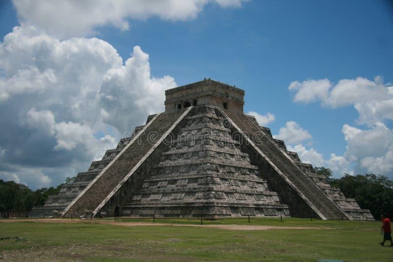 mayan ναός στοκ φωτογραφίες