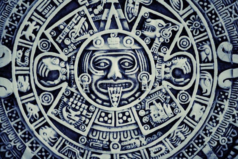 Mayan Achtergrond van de Kalender royalty-vrije stock fotografie