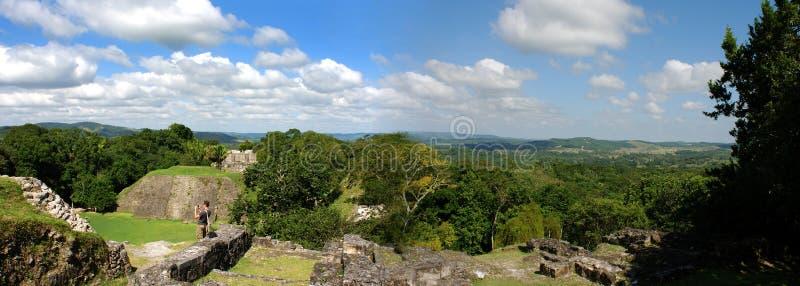 Mayan Archeologische Plaats royalty-vrije stock foto