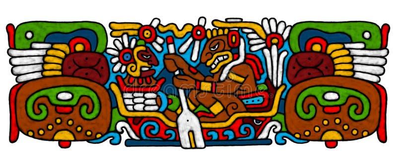 Mayan AtrWork vector illustratie