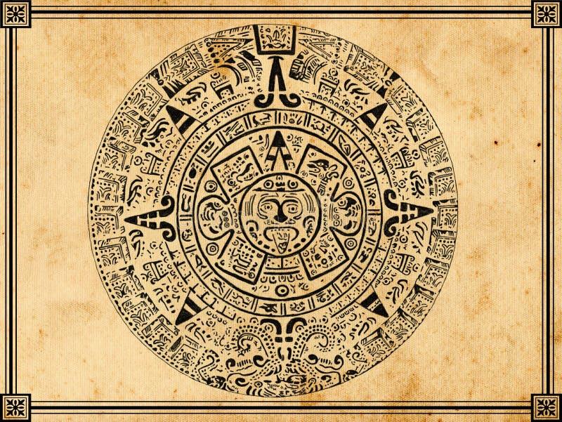Download Mayan calendar stock photo. Image of maya, mystery, mythology - 18853356