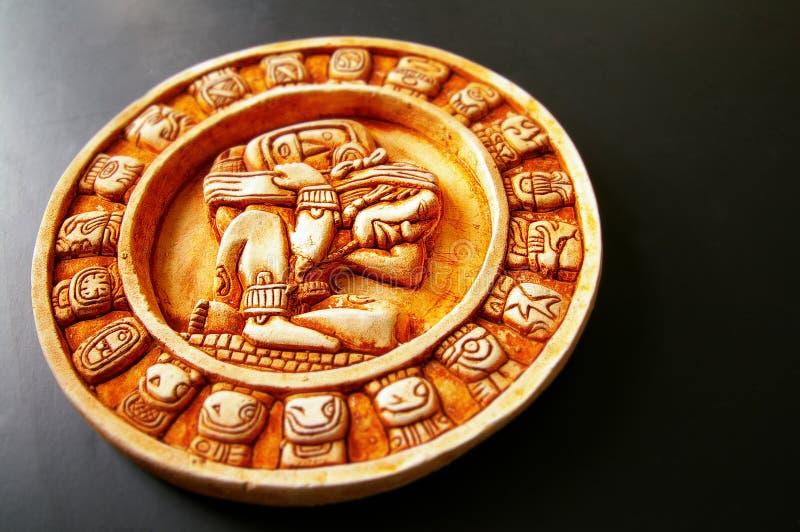 Mayan calendar royalty free stock images