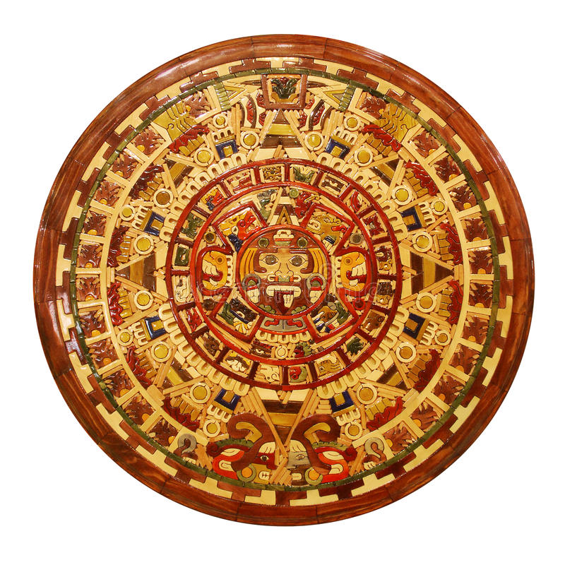 Download Mayan calendar stock photo. Image of mayan, circular - 23338134