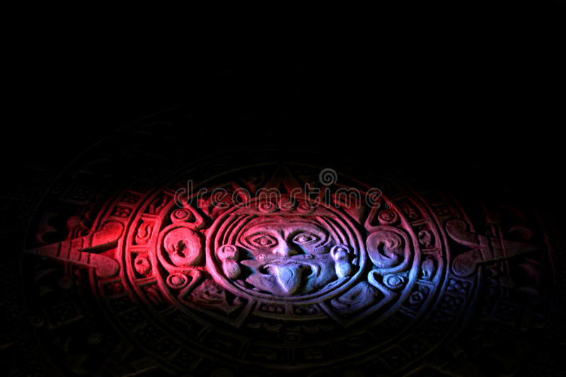 Download Mayan calendar. stock photo. Image of monument, maya - 23363886