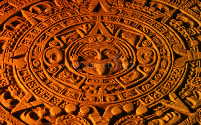 Download Mayan Calendar. Stock Photography - Image: 23610192