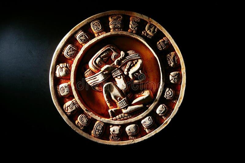 Download Mayan calendar stock image. Image of date, carving, time - 24449397