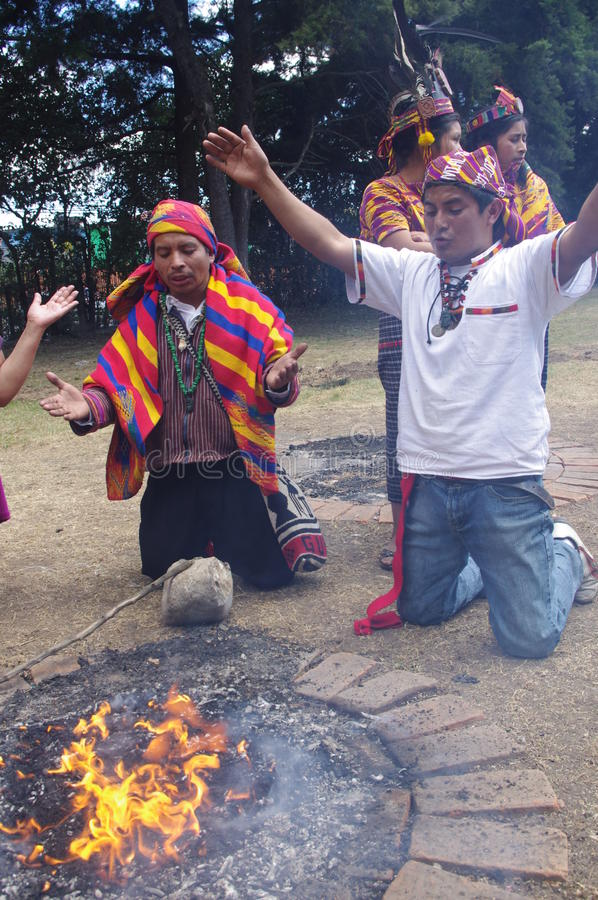Mayan Calendar Celebrations royalty free stock photography