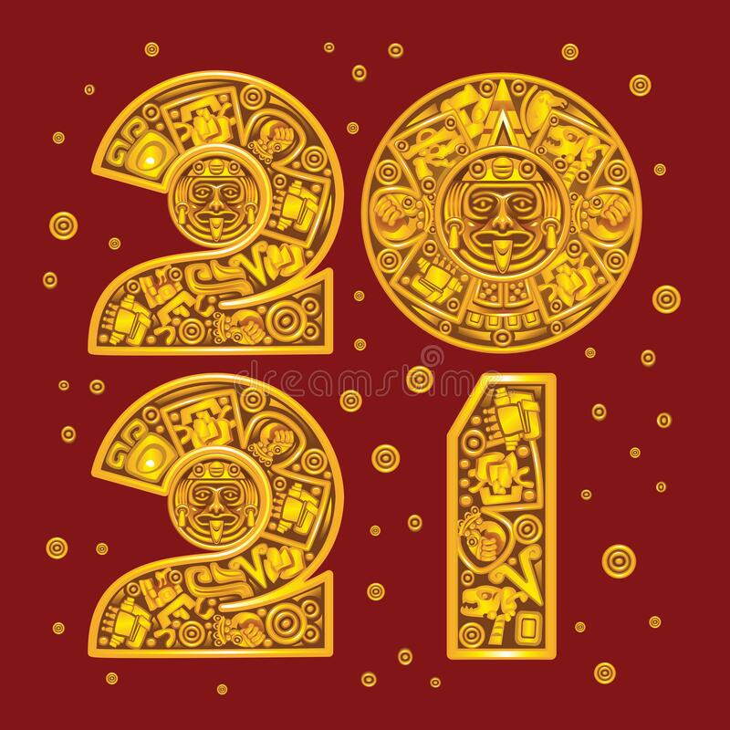 Aztec Calendar Stock Illustrations - 796 Aztec Calendar ...