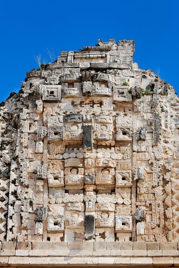 Download Mayan carvings stock image. Image of yucatan, uxmal, nunnery - 21485571