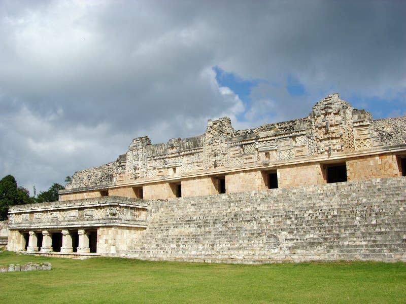 Mayan City Uxmal royalty free stock images