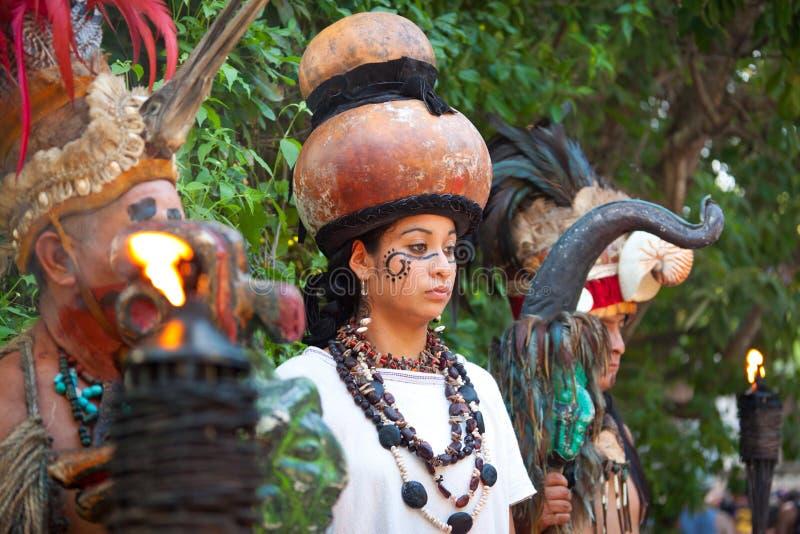 Mayan del Messico fotografia stock libera da diritti