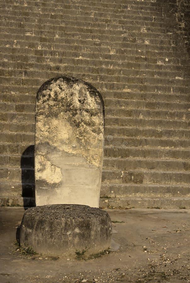 mayan guatemala fördärvar tikal arkivbild