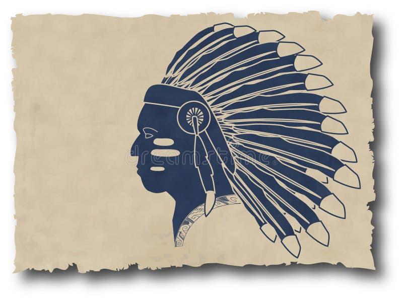 Mayan and inca tribal royalty free illustration