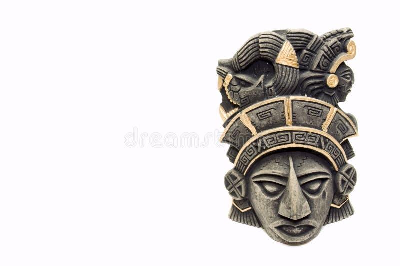 Mayan mask 1 stock photos