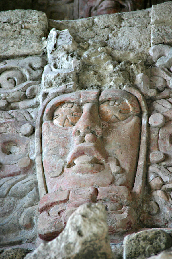 Mayan Mask. Temple of the Masks / Kohunlich