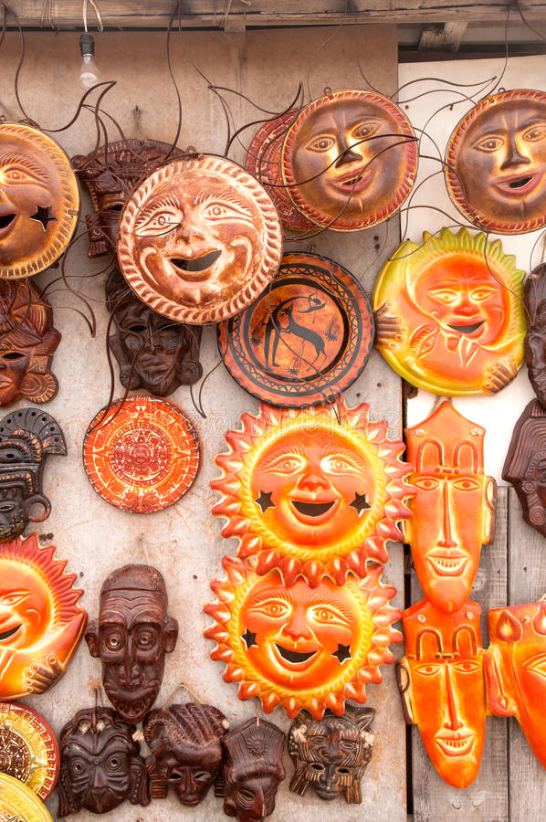 Download Mayan Masks stock image. Image of carved, ceremonial - 24628775