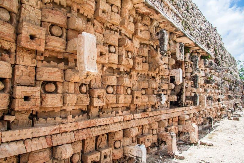 mayan mexico för kabah tempel yucatan royaltyfria foton