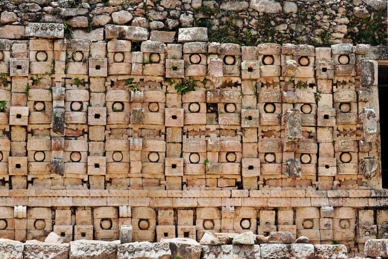 mayan mexico för kabah tempel yucatan fotografering för bildbyråer