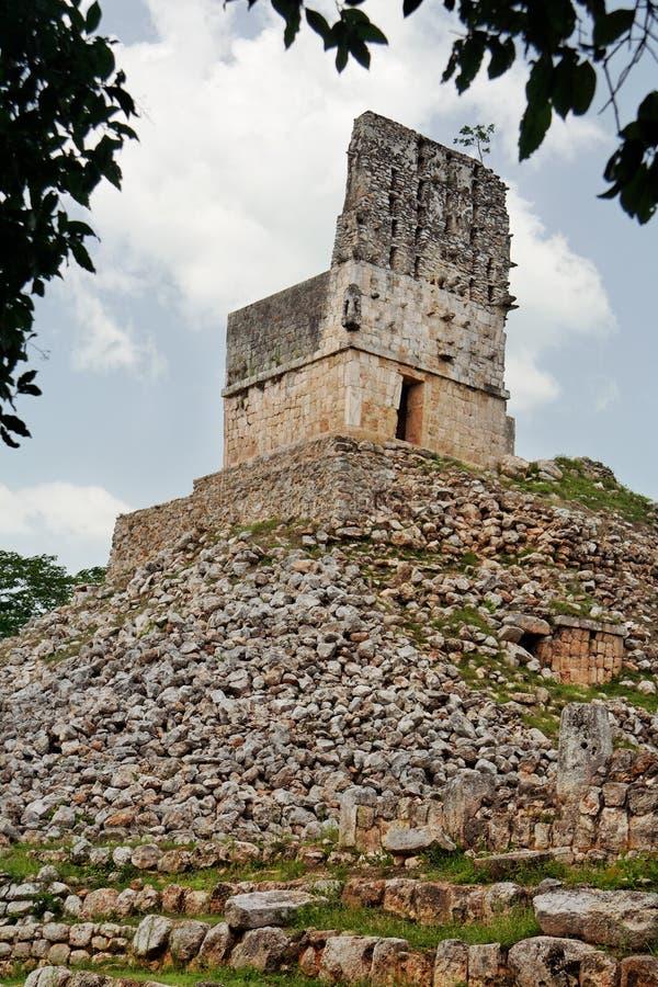 mayan mexico för labna tempel yucatan royaltyfri bild