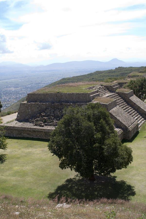 mayan mexico ställe arkivbild