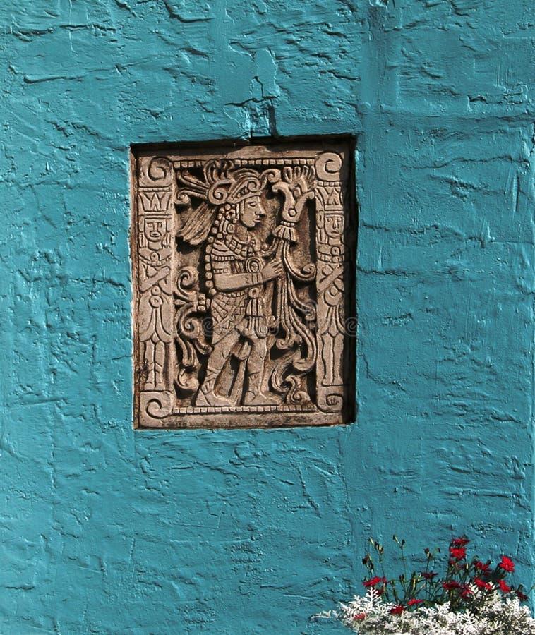 Mayan Portret royalty-vrije stock afbeelding