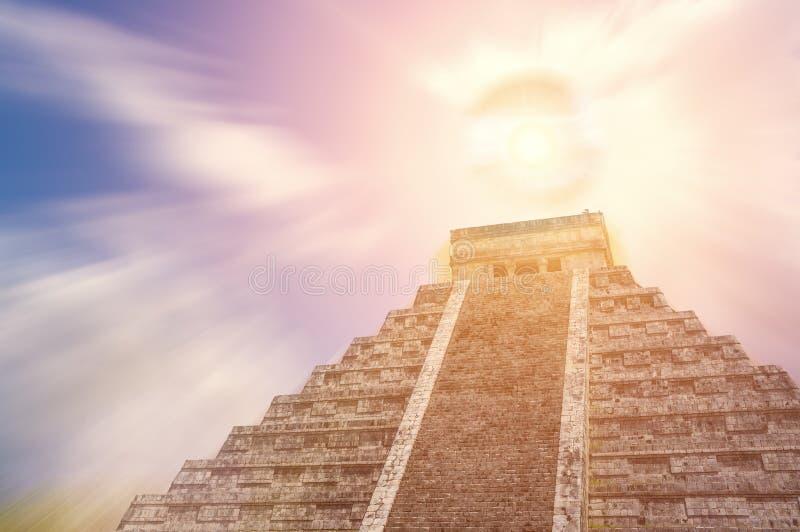Mayan Pyramid Royalty Free Stock Images