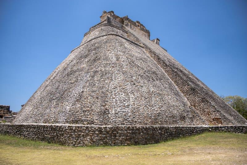 Mayan pyramid at Chichen Itza, Yucatán State, Mexico royalty free stock image