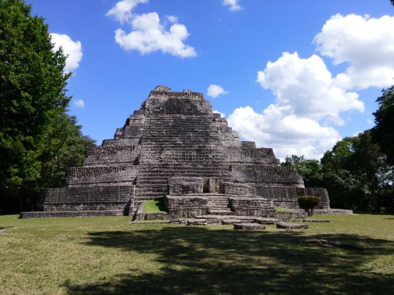 Mayan ruïne van Chichenitza stock afbeeldingen