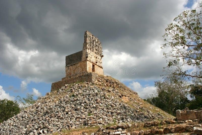 Mayan Ruin. Labna near Uxmal stock photography