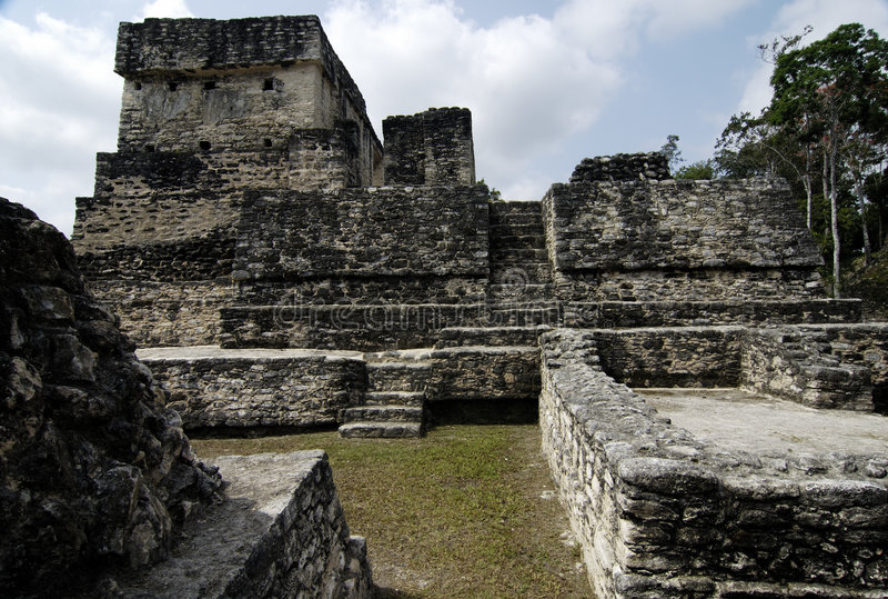 Mayan Ruins. Ancient Mayan Ruins royalty free stock photo