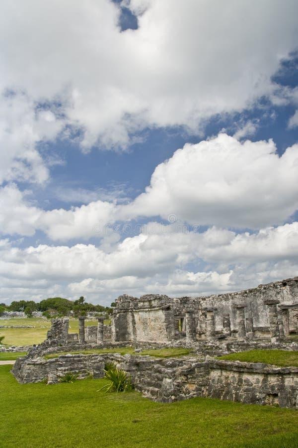 Download Mayan Ruins At Tulum Mexico Stock Image - Image: 3935047