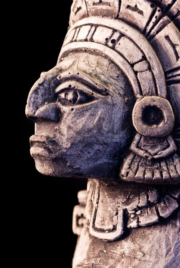 Mayan sculpture. Little detail of a mayan sculpture stock images