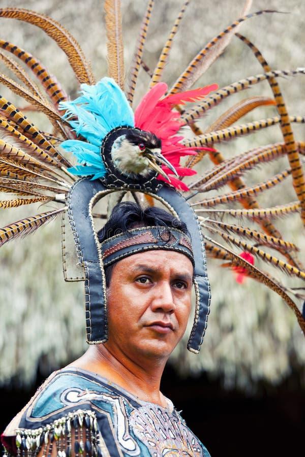 Mayan Shaman arkivfoton