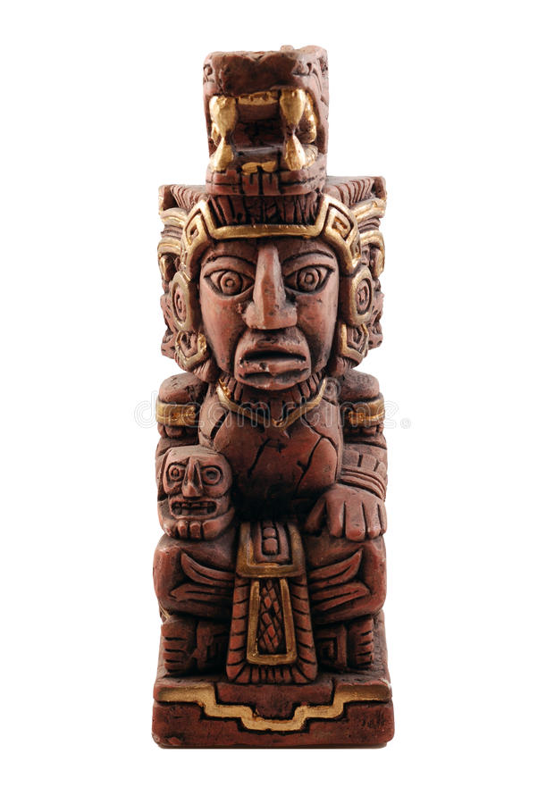 Mayan Statue from Mexico. Mayan Style Statute from Mexico stock image