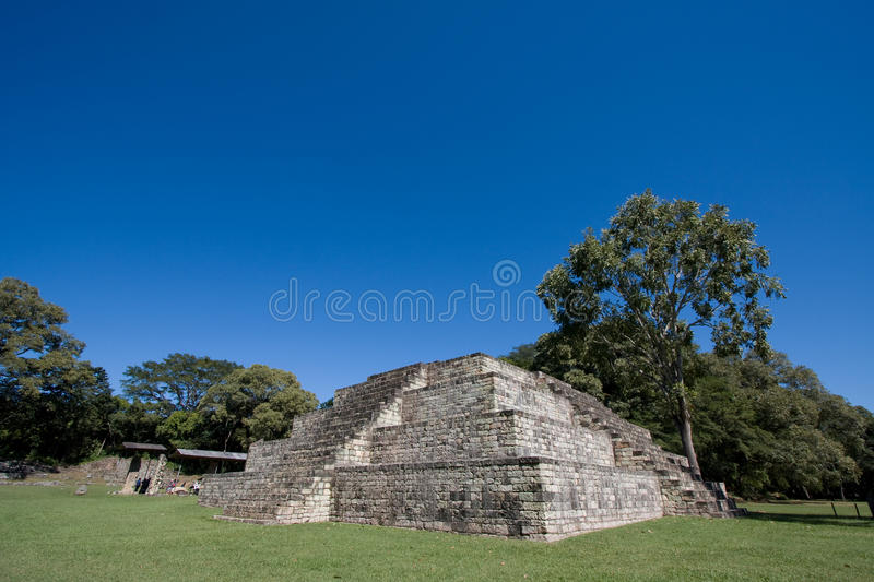 Mayan temple royalty free stock photography