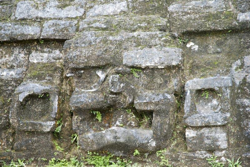 Mayan Temple Exterior stock image