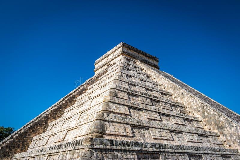 Download Mayatempelpyramide Von Kukulkan - Chichen Itza, Yucatan, Mexiko Stockfoto - Bild von architektur, fromm: 90236846