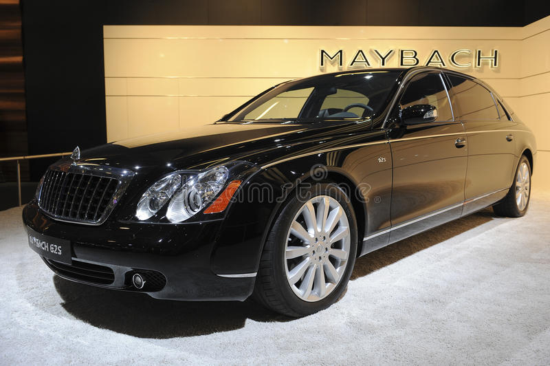 Maybach 62S imagem de stock