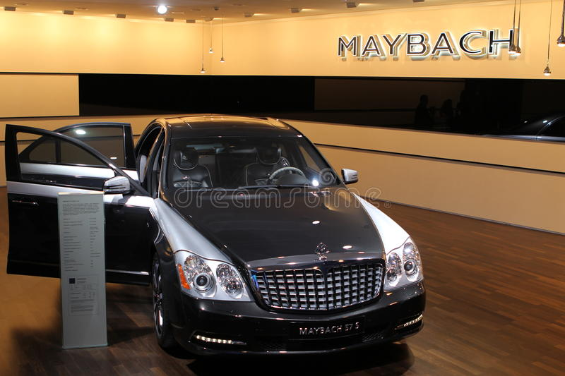 Download Maybach on 64rd IAA editorial stock photo. Image of cockpit - 21304333