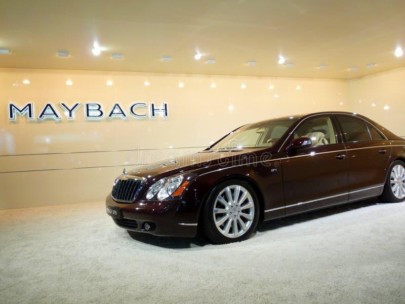 Maybach Luxury Car on Display stock image